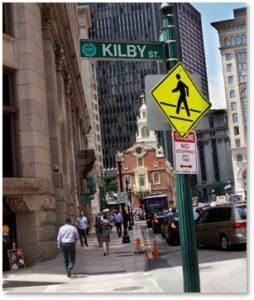 Kilby Street, State Street, Boston's Streets