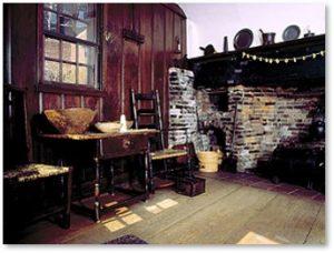 Paul Revere House, kitchen, North Square, Boston
