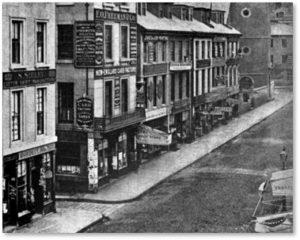 Water Street, Washington Street, Boston, 1860