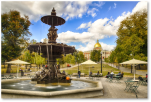 Brewer Fountain, Boston Common,