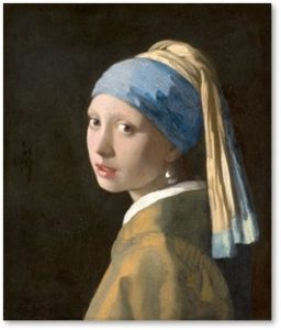 Girl with a Pearl Earring, Johannes Vermeer, Mauritshuis Museum, Viking River Cruise