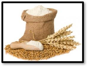 sack of flour, wheat, baking