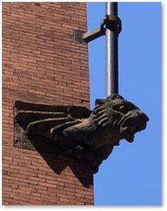 Chadwick Lead Works., Flagpole, Dragon, William G. Preston
