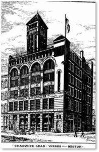 William G. Preston, Chadwick Lead Works, engraving