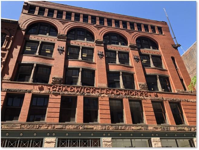 Chadwick Lead Works, High Street, Boston, Joseph H. Chadwick, William G. Preston