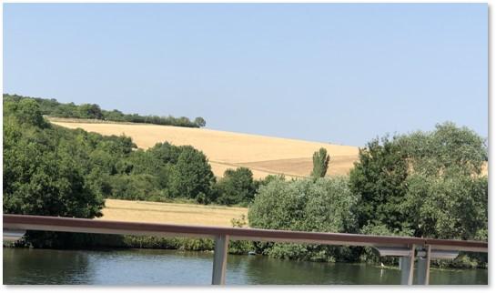 French fields, farmland, French food, local food, artisanal food