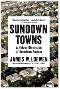Sundown towns, James Loewen, segregation,Black history