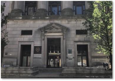 City Hall Annex, Front Door, Court Street, Boston