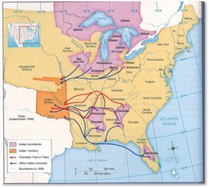 Trail of Tears, Andrew Jackson, Indian Removal Act
