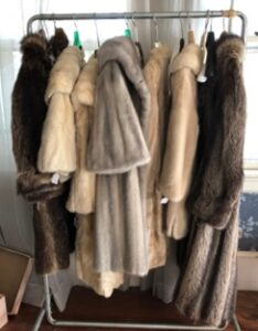 fur coats, estate sales