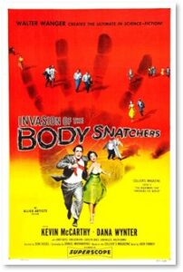 Invasion of the Body Snatchers, 1956, science fiction