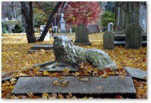 Thomas Handasyd Perkins, Mount Auburn Cemetery, Horatio Greenough