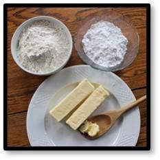 Butter, Sugar, Flour, Ingredients, cultured butter, artisanal butter