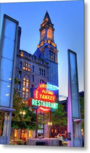 Flying Yankee Restaurant, Rose Kennedy Greenway, Joann Vitali, neon exhibit