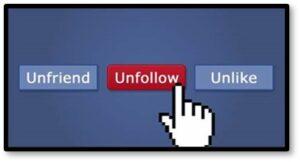 Unfollow, Unfriend, Unlike, social media, divisive politics, hate speech