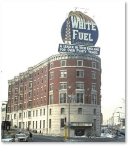 Hotel Buckminster, White Fuel Sign, Kenmore Square, Boston