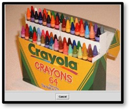 Crayola, crayons, big box, 64 colors