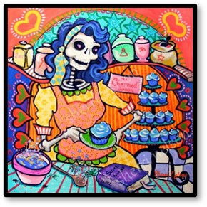 Day of the Dead, Dia de Los Muertos, In the Kitchen with Suze