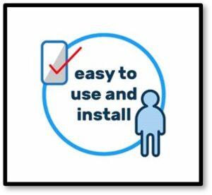 Easy to use and install, TikTok, social media, videos