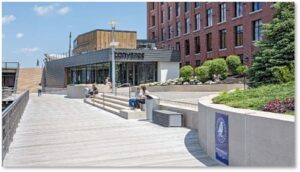 Harborwalk, Converse Store, Lovejoy Wharf, Charles River