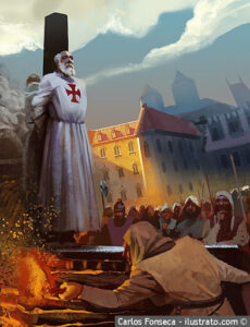 Jacques de Molay, Knights Templar, Grand Master, Curse of the Templar, Philip IV