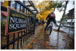 Nubian Square, Dudley Square, Thomas Dudley, street names, Boston