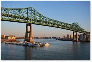 Tobin Bridge, Mystic River Bridge, Maurice J. Tobin, street names