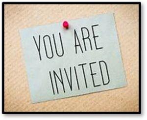 You Are Invited, organize