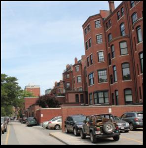 Back Street, Back Bay, Boston, Beacon Street, Storrow Drive