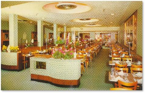 Dini's Sea Grill, Tremont Street, Boston, interior