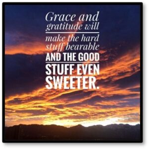 Grace and gratitude, Thanksgiving, holiday, Covid-19