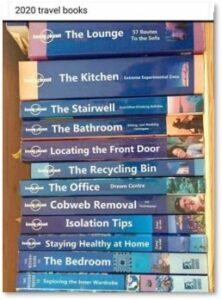 No-travel books, isolation