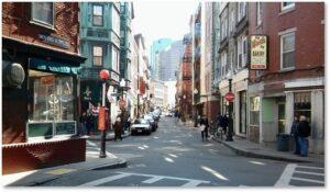 Salem Street, Boston, North End, Back Street