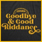 2020 Goodbye and Good Riddance, Covid-19, horrible year