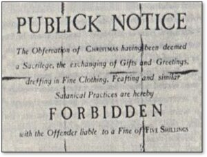 Christmas Forbidden, Banned in Boston, Publick Notice