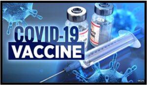 Covid-19 vaccine, syringe, December 2020