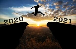 End of 2020, New Year 2021