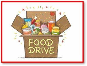 Food drive, food bank, food pantry, donation, holidays, hunger