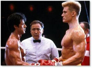 Rocky IV, Sylvester Stallone, sports movies, holiday movies, boxing