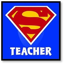 Super Teacher, heroes, Superman, pandemic