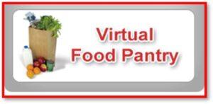 Virtual food pantry, food bank, online giving, sharing