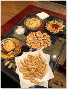 appetizers, In-Home Dinners