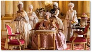 Queen Charlotte, Bridgerton, multi-racial, Regency England