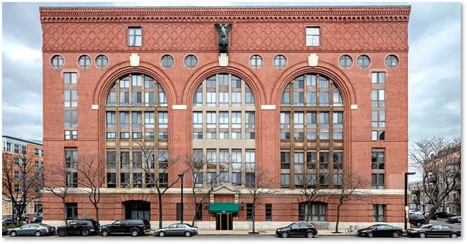 Lincoln Wharf Condominiums, Richardsonian Romanesque, Panel Brick, Commercial Street, Boston