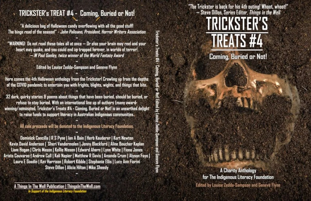 Tricksters Treats #4, Things in the Well Publications, Indigenous Literacy Foundation, Frostfire, charity anthology