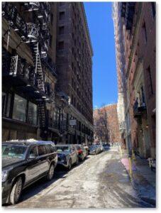 Bosworth Street, Boston, Downtown, Tremont Street, winter, Ben Edwards