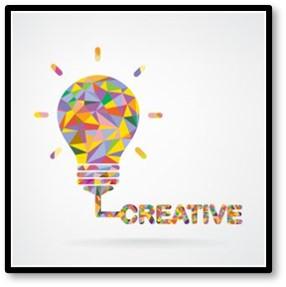 Creative lightbulb, Creativity, ideas, innovation
