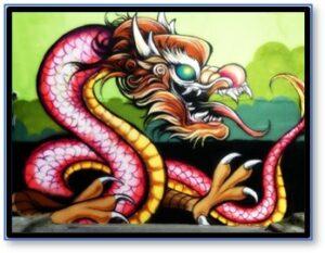 Nian the Dragon, Chinese Dragon, good luck