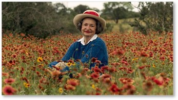 Lady Bird Johnson, First Lady, Vice President, highway beautification, wildflowers