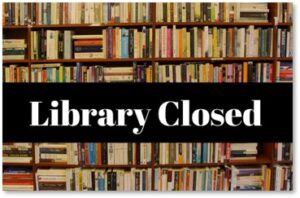 Library Closed, books, curbside pickup, pandemic